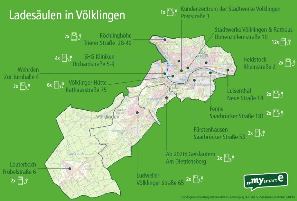 Karte Ladepunkte 2